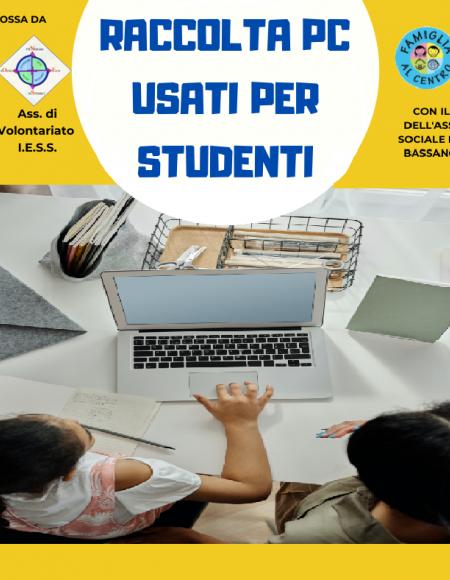 RACCOLTA PC USATI PER STUDENTI